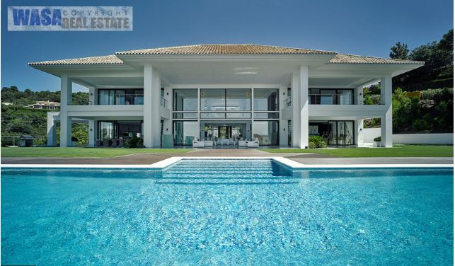 Outstanding contemporary villa for sale in La Zagaleta